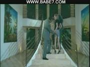 Trójkąt na schodach