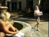 Lesbijska akcja przy fontannie